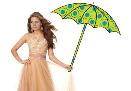 APRIL SHOWERS BRING PROM FLOWERS?