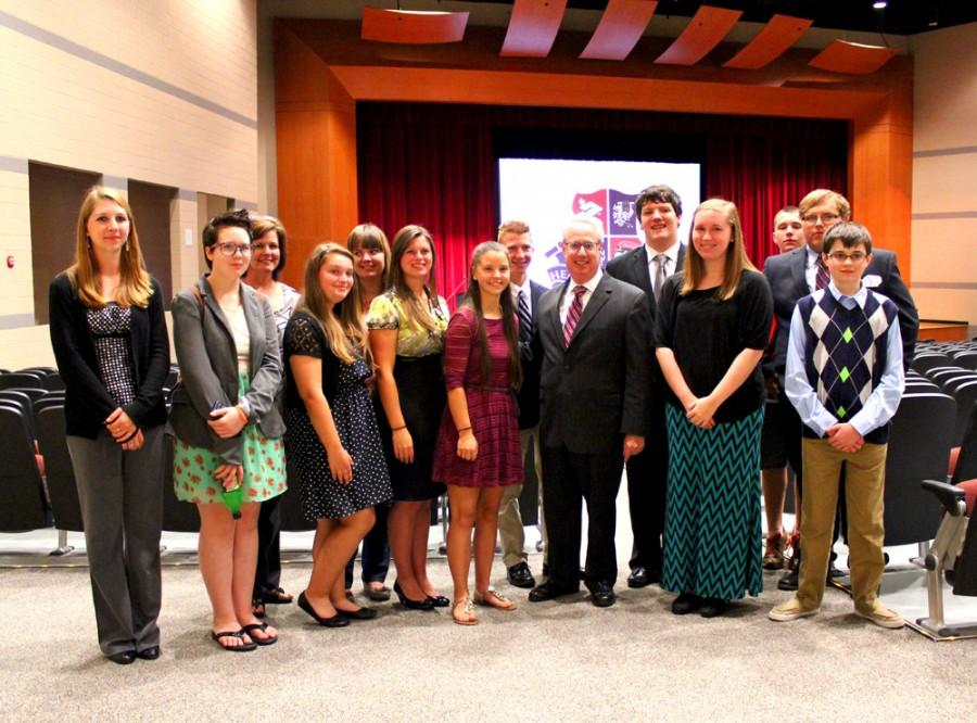 STATE ATTORNEY GENERAL SAM OLENS VISITS HHS 10/2/14