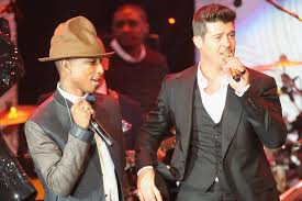 LOOKS LIKE PHARRELL & THICKE