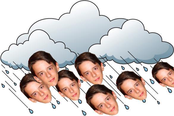 EDITORIAL: RAINDROPS KEEP FALLING ON MY HEAD