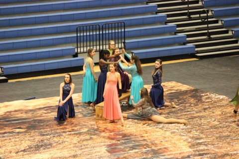 STILL FALLING FOR OUR WINTER GUARD