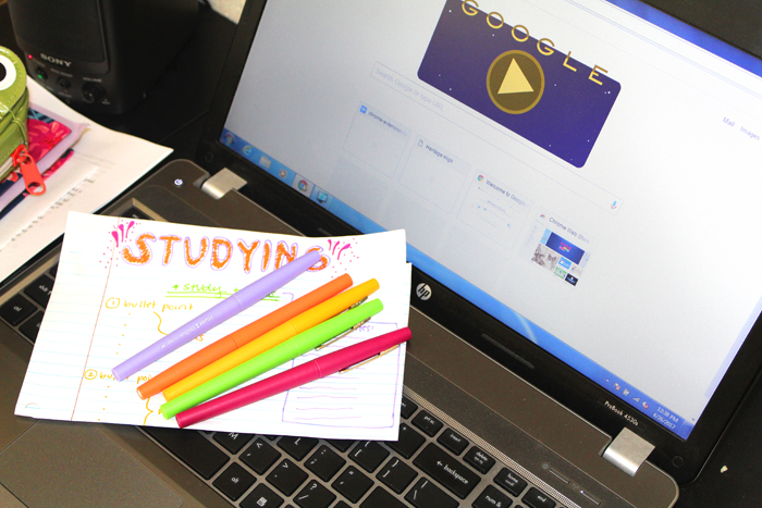 EDITORIAL:  STUDY TIME