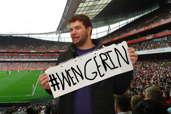 #WENGERIN OR #WENGEROUT