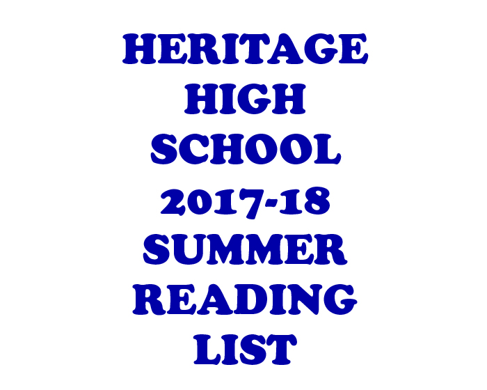 HHS+SUMMER+READING+LIST