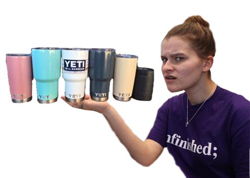 EDITORIAL:  YETI CUPS