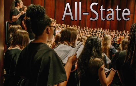 SINGING IN THE ALL-STATE (CHORUS)