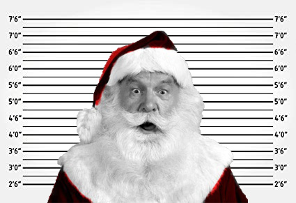Santa Claus Is Coming To... Jail?